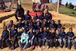 Field Trip To Pumpkin Patch Group Picture